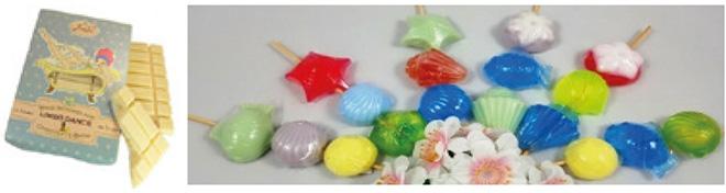 In Handarbeit gefertigte Seifen und Wellness-Produkte